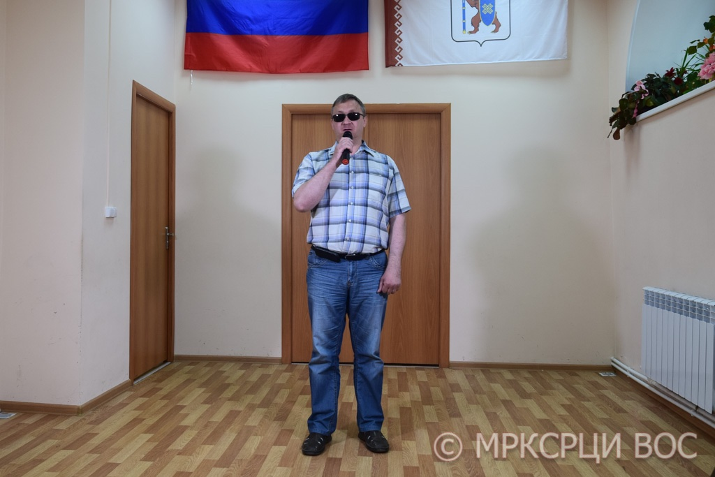 Региональный этап творческого конкурса  среди слепоглухих людей «Со-цветие талантов»