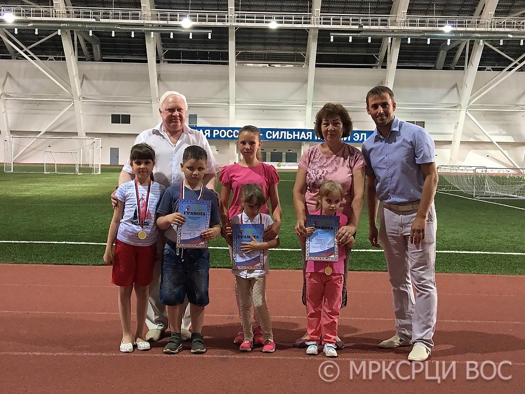 Дети-инвалиды участники Чемпионата-Первенства Республики Марий Эл по легкой атлетике