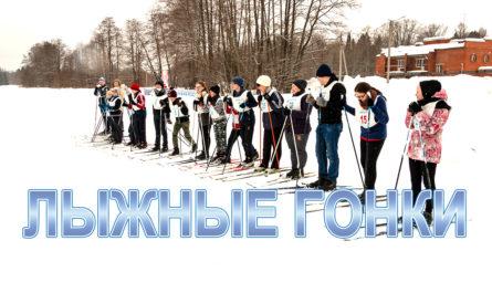 Обложка лыжные гонки