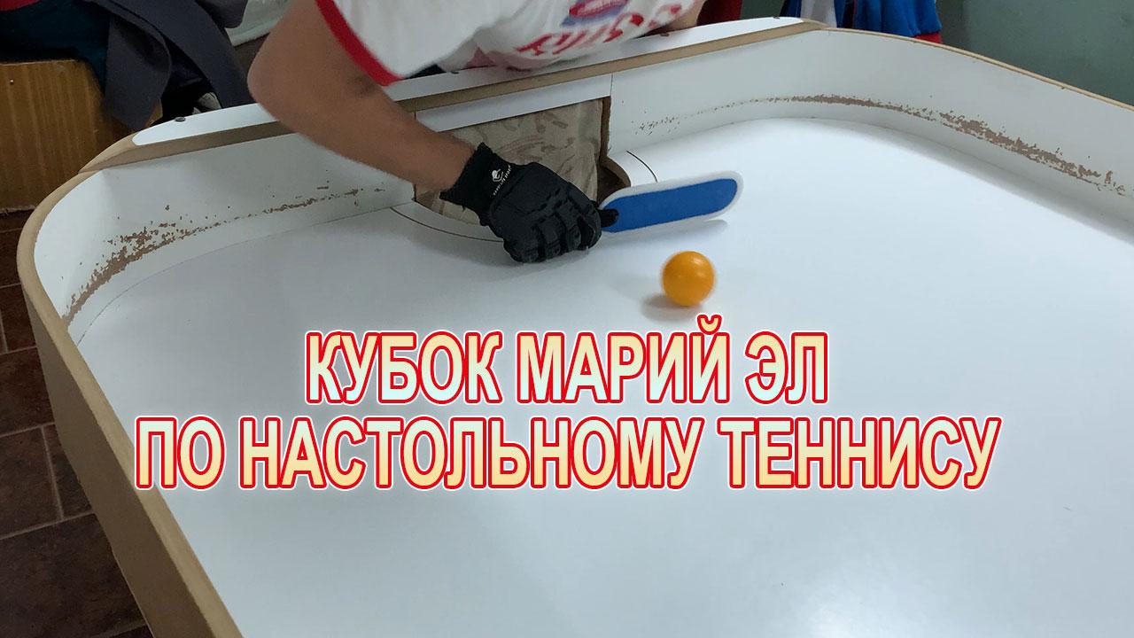 Кубок Марий Эл по настольному теннису